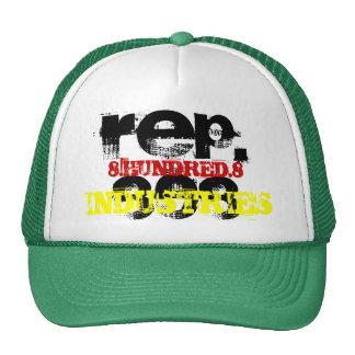 REP.808, 8.HUNDRED.8, INDUSTRIES TRUCKER HAT
