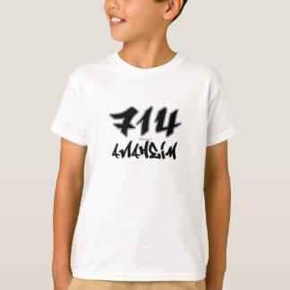 Rep Anaheim (714) T-Shirt