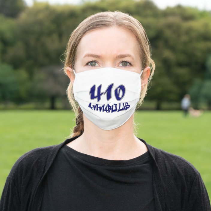Rep Annapolis (410) Cloth Face Mask