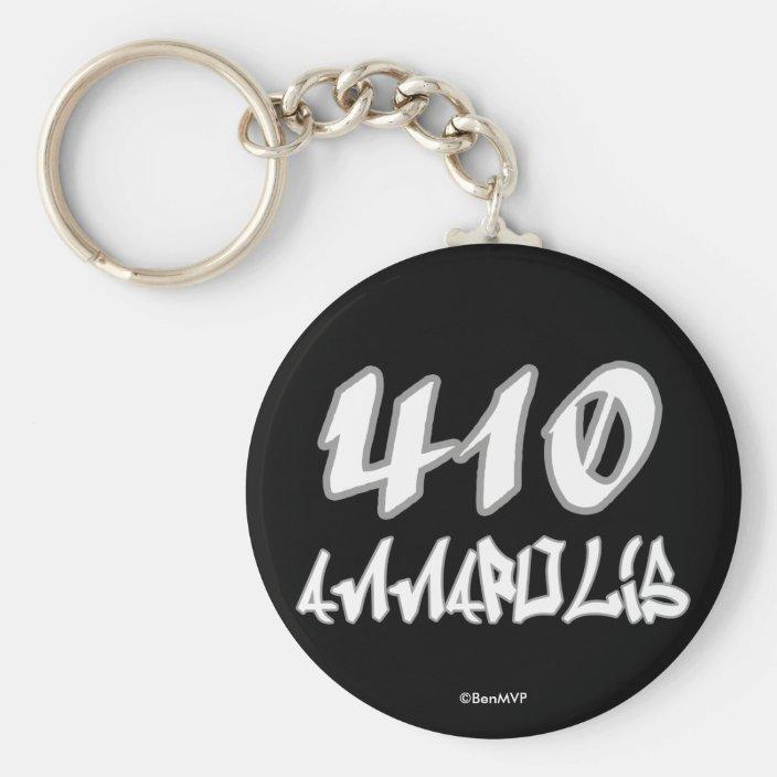 Rep Annapolis (410) Key Chain