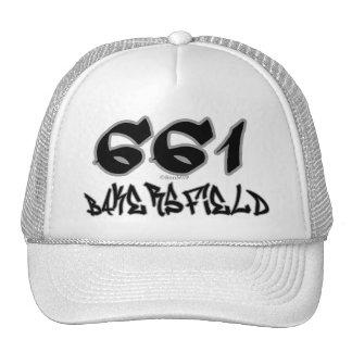 Rep Bakersfield (661) Trucker Hats