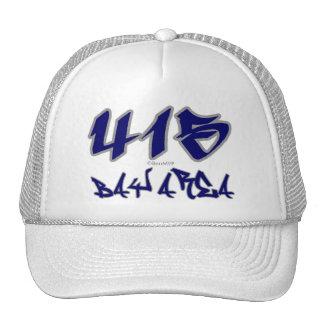 Rep Bay Area (415) Trucker Hat