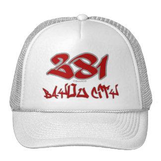 Rep Bayou City (281) Trucker Hats