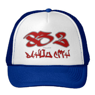 Rep Bayou City (832) Mesh Hats