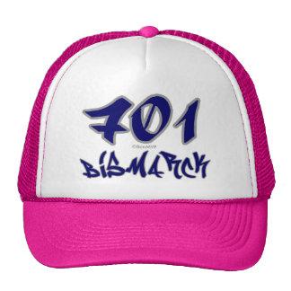 Rep Bismarck (701) Trucker Hat