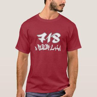 Rep Brooklyn (718) T-Shirt