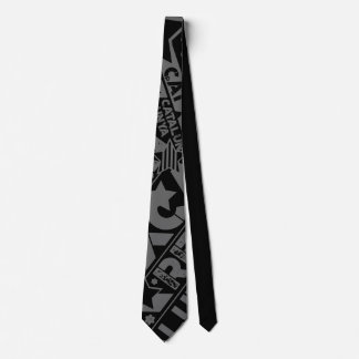 REP CAT (negre) Neck Tie