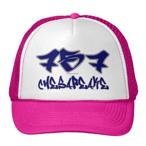 Rep Chesapeake (757) Trucker Hat