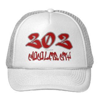 Rep Chocolate City (202) Trucker Hat
