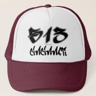Rep Cincinnati (513) Trucker Hat