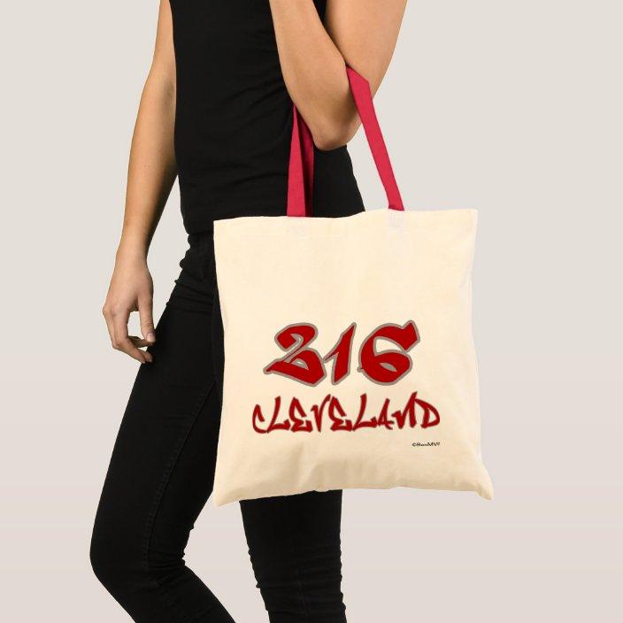 Rep Cleveland (216) Canvas Bag