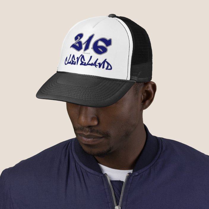 Rep Cleveland (216) Mesh Hat