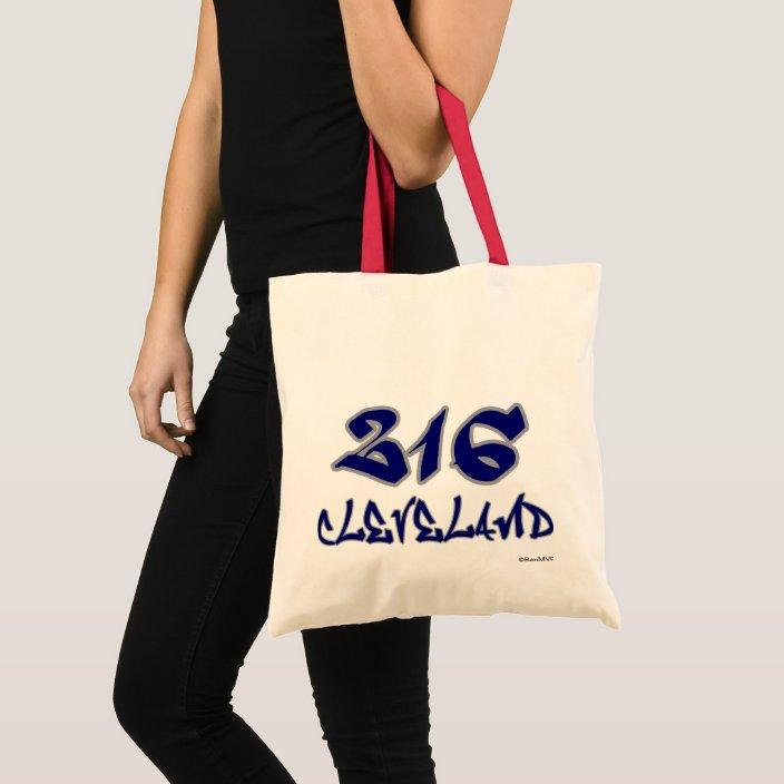 Rep Cleveland (216) Tote Bag