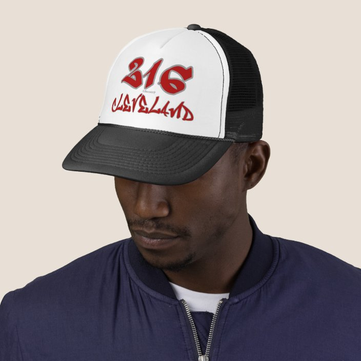 Rep Cleveland (216) Trucker Hat