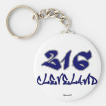 Rep Cleveland (216) Keychain
