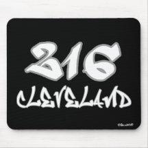 Rep Cleveland (216) Mousepad