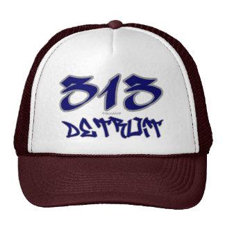 Rep Detroit (313) Trucker Hat