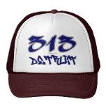 Rep Detroit (313) Hats