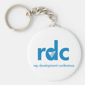 Rep Development Conference Basic Round Button Keychain