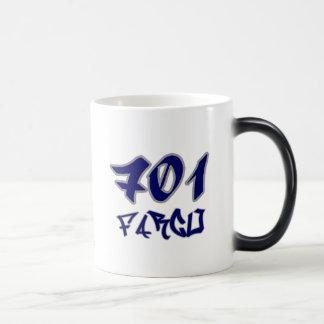 Rep Fargo (701) Magic Mug