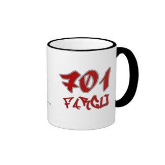Rep Fargo (701) Ringer Mug