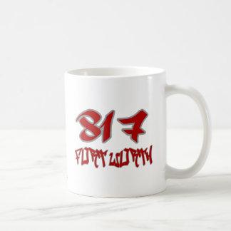 Rep Fort Worth (817) Coffee Mug