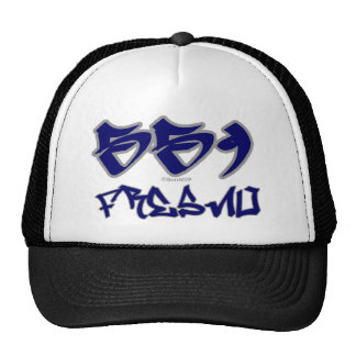 Rep Fresno (559) Trucker Hat