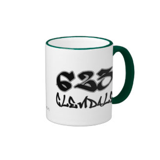 Rep Glendale (623) Ringer Coffee Mug