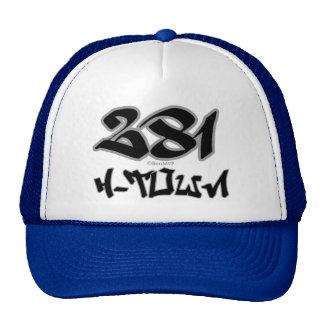Rep H-Town (281) Trucker Hat