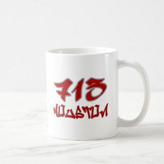 Rep Houston (713) Coffee Mug