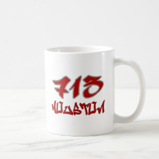 Rep Houston (713) Coffee Mugs