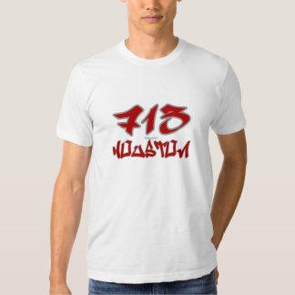 Rep Houston (713) T-shirt