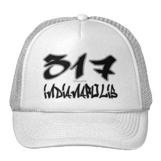 Rep Indianapolis (317) Trucker Hat