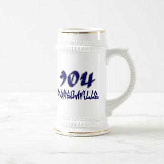Rep Jacksonville (904) Beer Stein