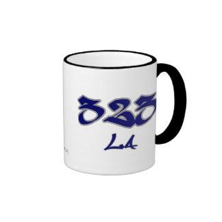 Rep LA (323) Coffee Mug