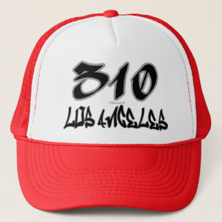Rep Los Angeles (310) Trucker Hat