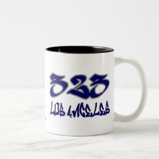 Rep Los Angeles (323) Mugs