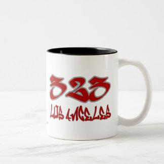 Rep Los Angeles (323) Mug