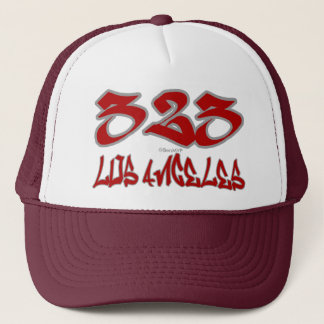 Rep Los Angeles (323) Trucker Hat