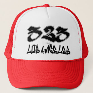 Rep Los Angeles (323) Trucker Hat
