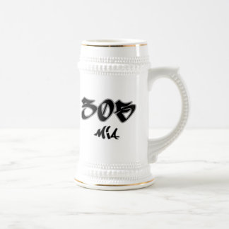 Rep MIA (305) Beer Stein