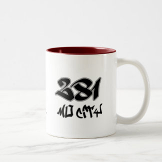 Rep Mo City (281) Two-Tone Coffee Mug