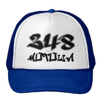 Rep Motown (248) Trucker Hat