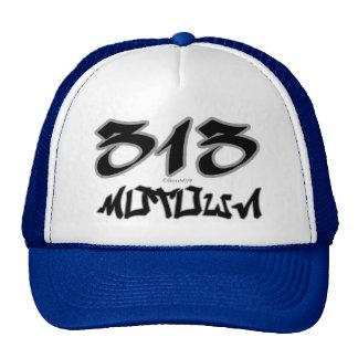 Rep Motown (313) Trucker Hat