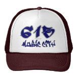 Rep Music City (615) Mesh Hat