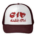 Rep Music City (615) Mesh Hats