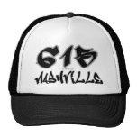 Rep Nashville (615) Mesh Hats