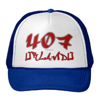 Rep Orlando (407) Trucker Hat