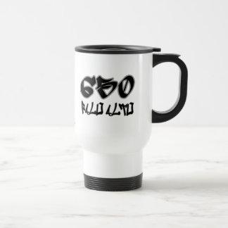 Rep Palo Alto (650) 15 Oz Stainless Steel Travel Mug