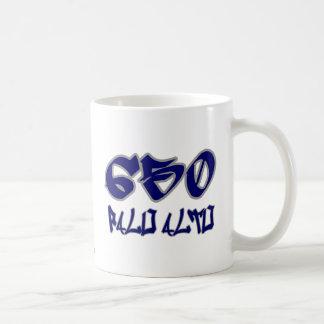 Rep Palo Alto (650) Classic White Coffee Mug